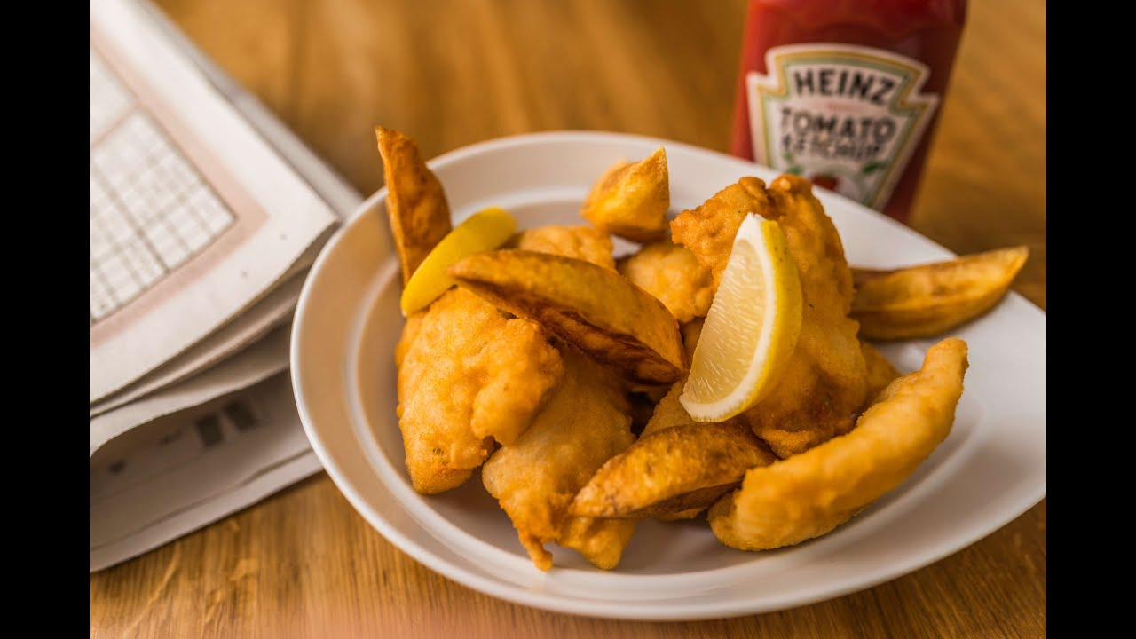 Fish and chips recept youtube for Terrace fish and chips