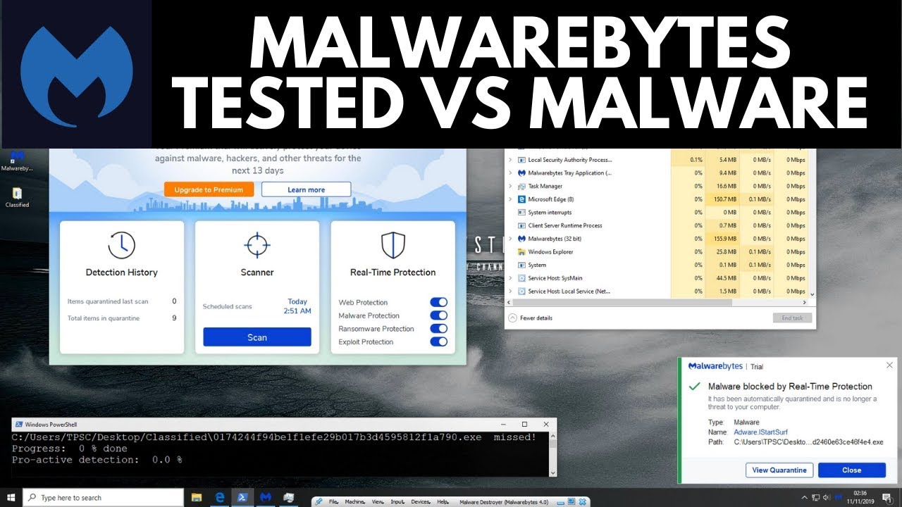 Malwarebytes 4 Review Tested Vs Malware Youtube