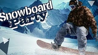 Snowboard Party -  Симулятор сноубординга на Android(Обзор/Review)
