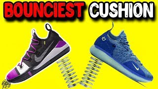 Top 10 Bounciest Cushion Set Ups in Basketball Shoes 2018!