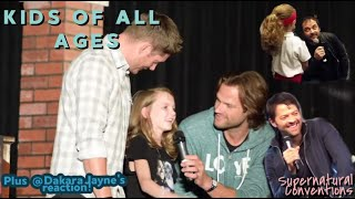 SPN Cast - Kids of All Ages [CC]