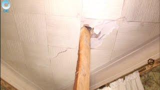 Уроки выживания. Как уснуть под треск потолочных балок и шелест падающей штукатурки?