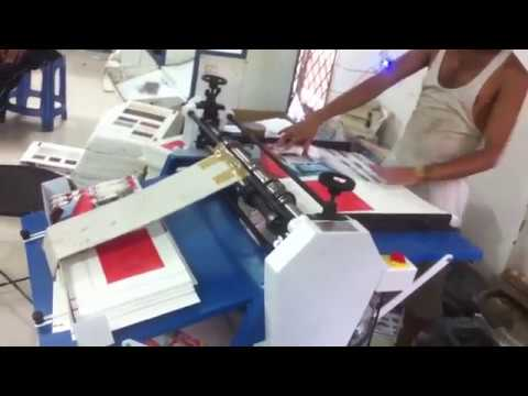 Title Creasing Machine By National Machinery Works, Delhi