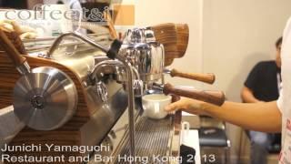 Junichi Yamaguchi @ Restaurant and Bar Hong Kong 2013
