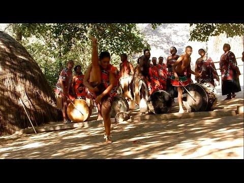 SWAZILAND - AFRIQUE -  CHANTS ET DANSES TRADITIONNELLES