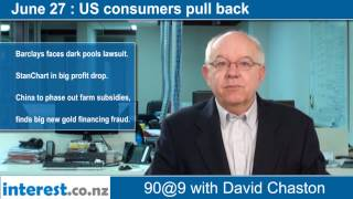 90 seconds @ 9am: US consumers pull back