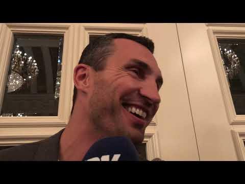 Wladimir Klitschko on wilder Joshua