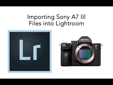 importing-sony-a7-iii-raw-files-into-lightroom