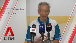 COVID-19: PM Lee urges Singaporeans to get vaccinated, celebrate Chinese New Year safely