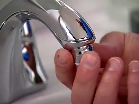 high flow faucet aerator. YouTube Premium Kohler Water Saving Tips  How To Install A Faucet Aerator