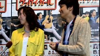 ミュージカル『グッバイ・ガール』 公演初日前会見(紫吹 淳、岡田浩暉...