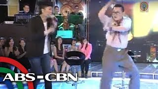 Repeat youtube video ER Ejercito joins 'Gangnam Style' fever