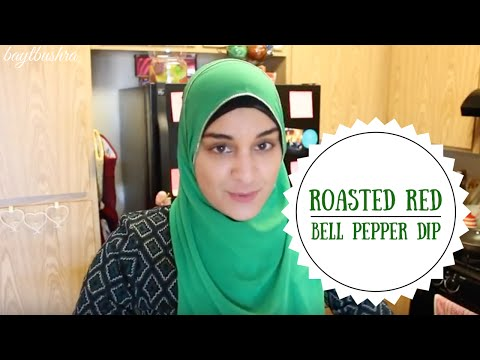 Red Bell Pepper Dip | Muhammarah | Middle Eastern Appetizer