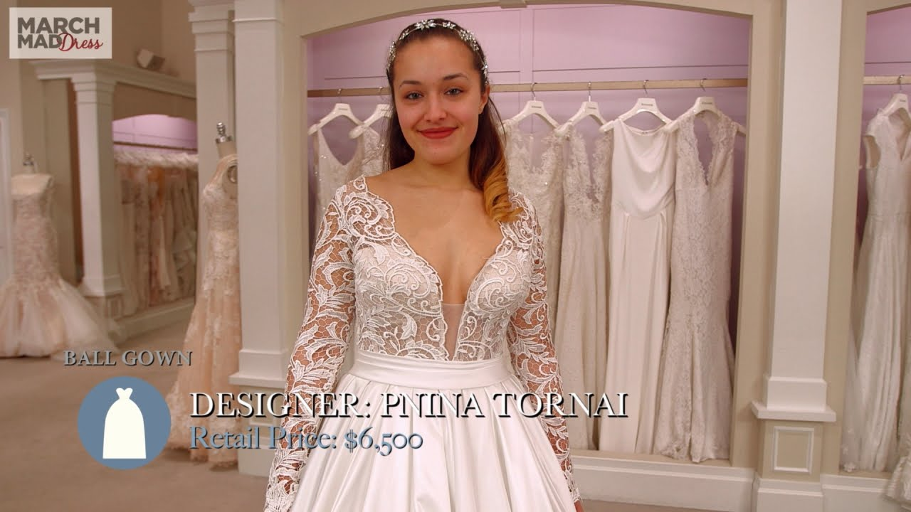 March MadDress: Pnina Tornai Ball Gown - YouTube