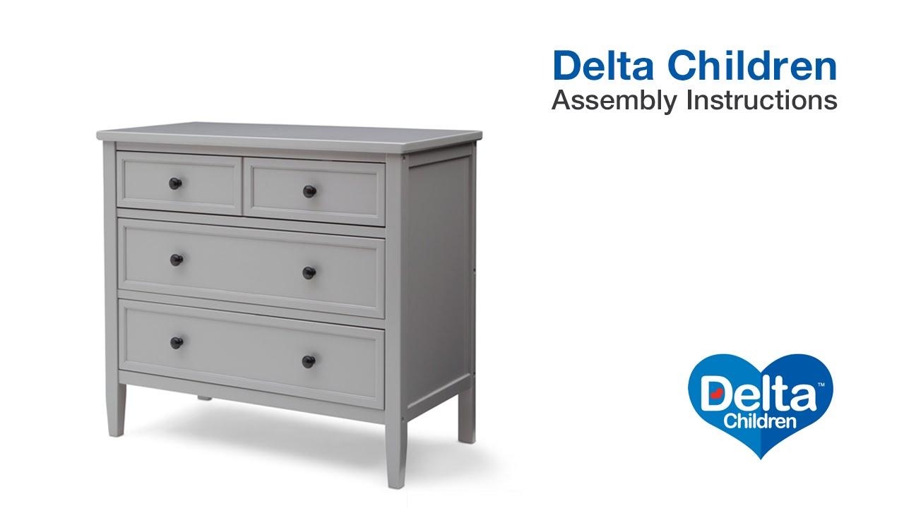 Delta Children Epic 3 Drawer Dresser