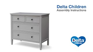 Delta Children Epic 3 Drawer Dresser Assembly Video