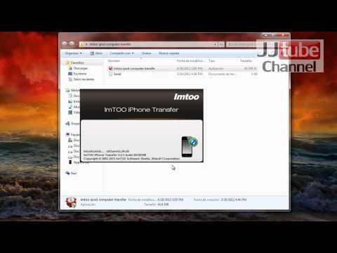 Como instalar ImTOO Iphone Computer Transfer original