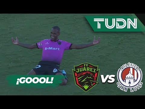 ¡Diego Rolan empata el partido! | FC Juárez 1 - 1 Atlético San Luis | Liga Mx - AP 19 - J13 | TUDN