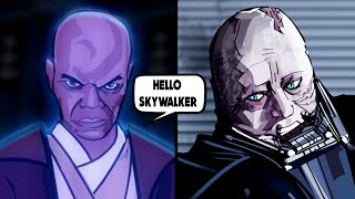 Mace Windu's Ghost Visits Vader - Once Upon a Theory Last Episode