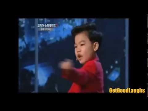 Korea Got Talent 2 - The Little Boy in Gangnam Style (Hwang Min-Woo)