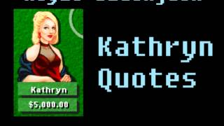 Hoyle Blackjack - Kathryn Quotes