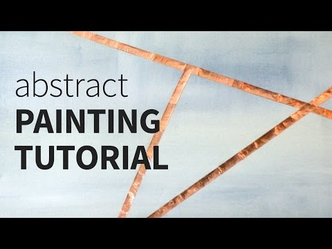 How to make abstract art (beginner tutorial)