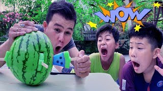 Dưa Hấu Biến ❤ ChiChi Family ❤ Đồ Chơi Watermelon Fun