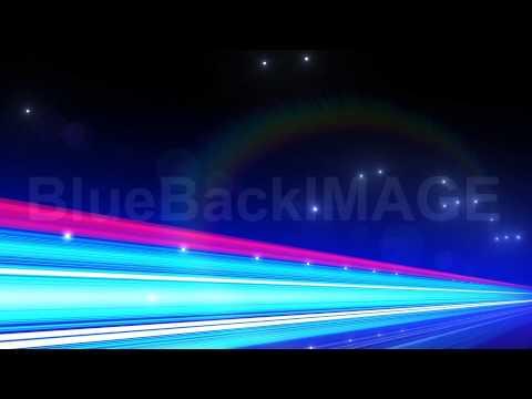 著作権フリー 映像素材 動画素材 ハイウェイ ネオン 車 ヘッドライト F3Ba4