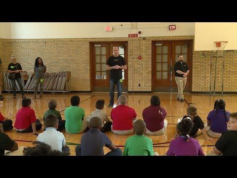 Frayser Elementary School -- Surprise Deliveries