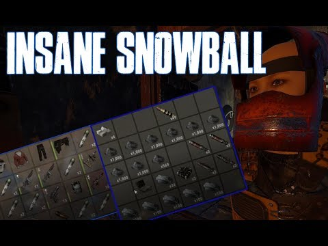 Rust Vanilla - Insane Snowball (Spear to End Game in Hours) thumbnail