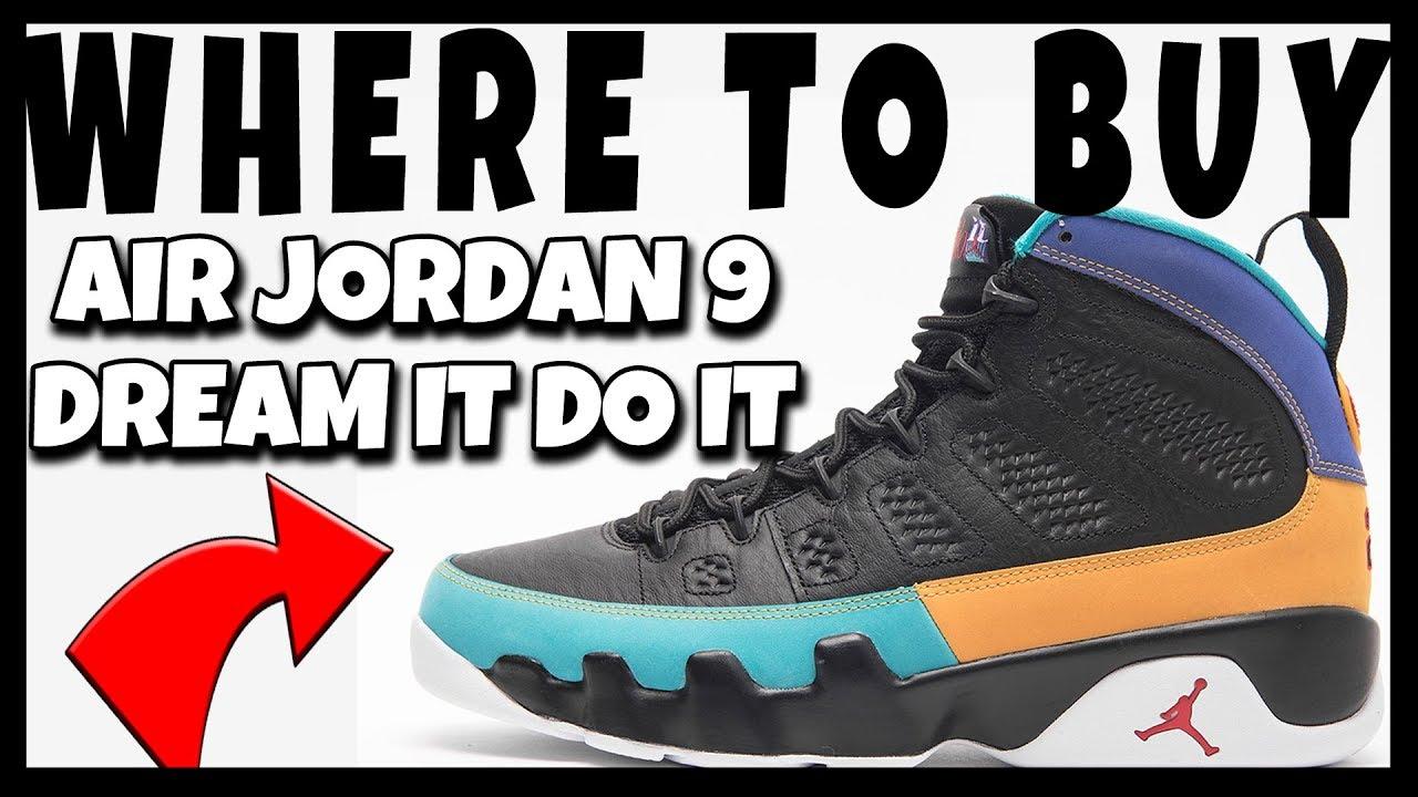 4cff8d3ef42318 AIR JORDAN RETRO 9 DREAM IT DO IT