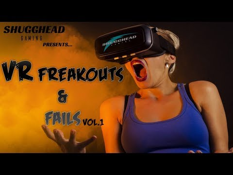 VR Freakouts And Fails: Best Of The Best For VR REACTIONS AND LAUGHS
