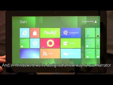Building Windows 8, Ensuring Accessibility
