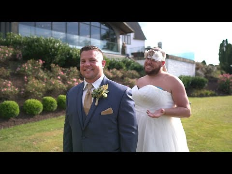 Eddie & Rocky - A New Trend For Pranking Grooms, Best Men In Wedding Dresses - It's A Thing