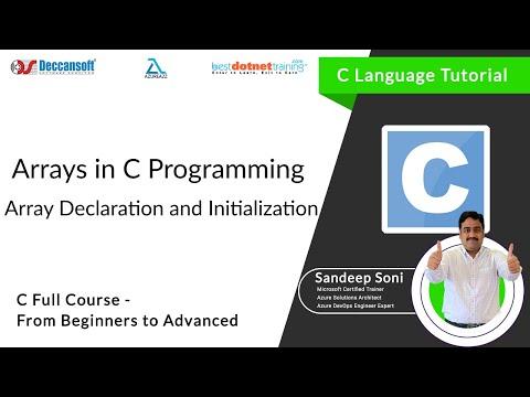 Download Youtube: Array Declaration and Initialization |  bestdotnettraining.com