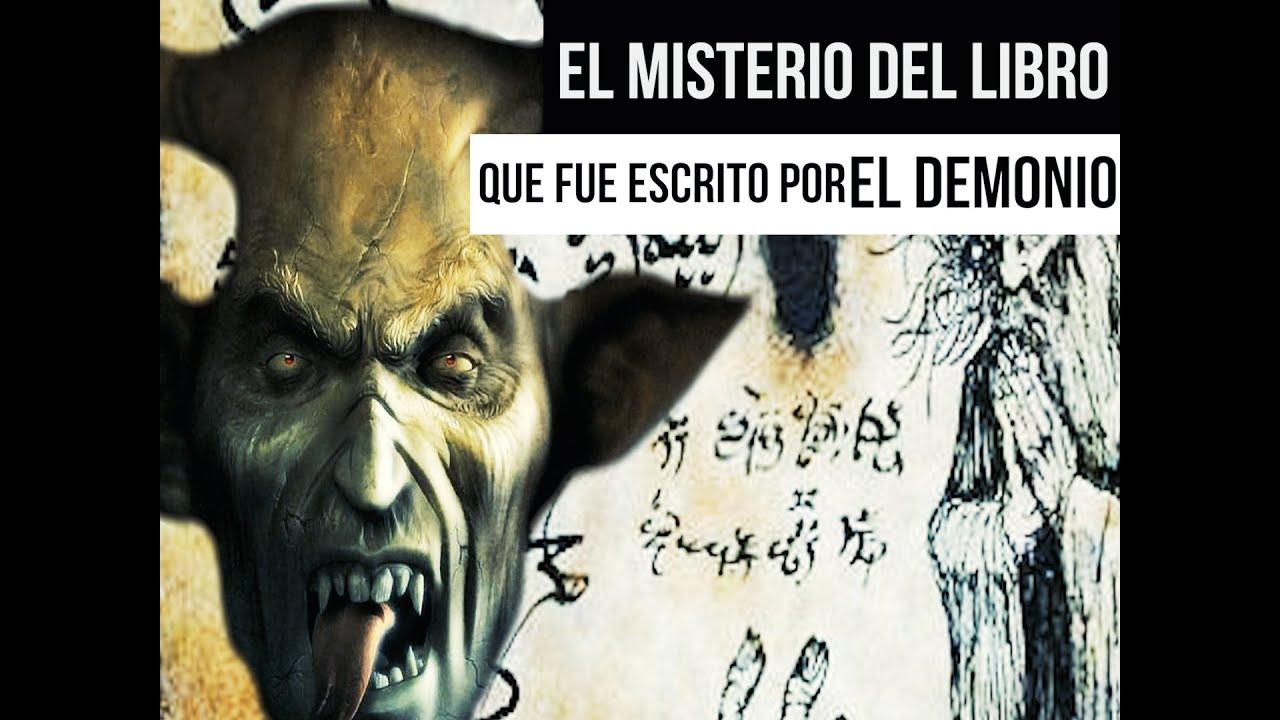 El misterioso libro que fue escrito por el demonio.