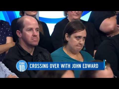 John Edward Reads Studio 10 Audience