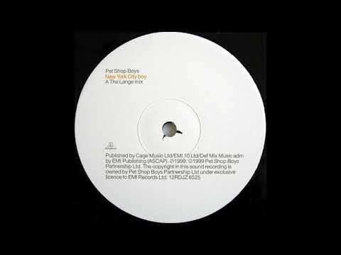 Pet Shop Boys - New York City Boy (The Lange Mix) (1999)