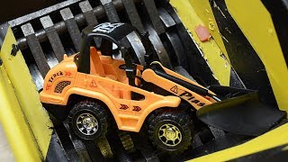 Shredding toy cars