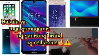 Babala: Sa mga gumagamit ng ganitong brand ng cellphone☝️📱