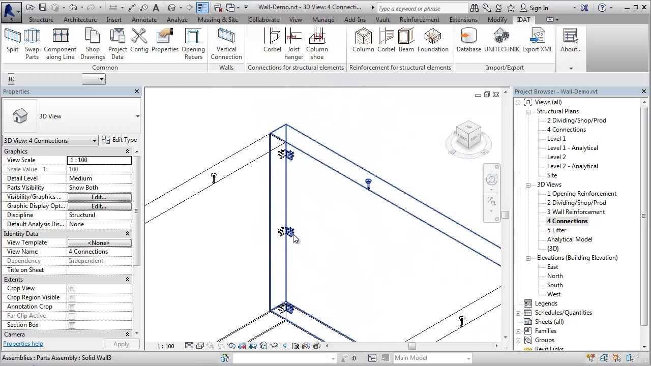 Revit Precast Tools Solid Wall Tutorial 5