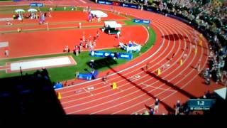 Allyson Felix wins Women's 400m dash Final 49.67(World Leader)Olympic Trials 2016