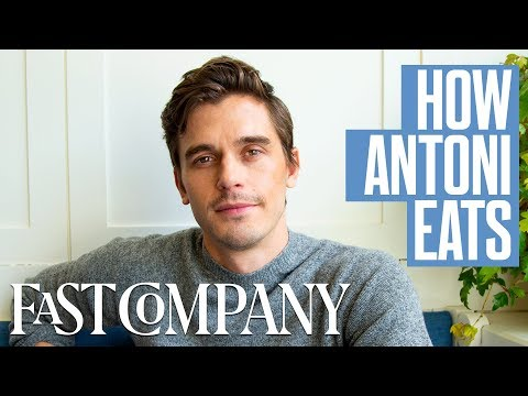 This Is How Queer Eye's Antoni Porowski Eats | Fast Company