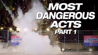 Danger! Explosive! Insane! These Talents Make You Nervous - America