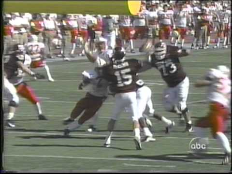 #18 Texas A&M vs #2 Nebraska 1998 part 1