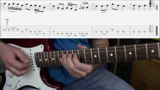 "How To Play Black Sabbath ""Paranoid"" Guitar Solo"