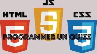 JavaScript - Créer un QUIZZ | Partie 1 - HTML/CSS