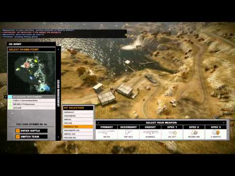 Battlefield Bad Company 2 Multiplayer Gameplay Isla Inocentes Rush