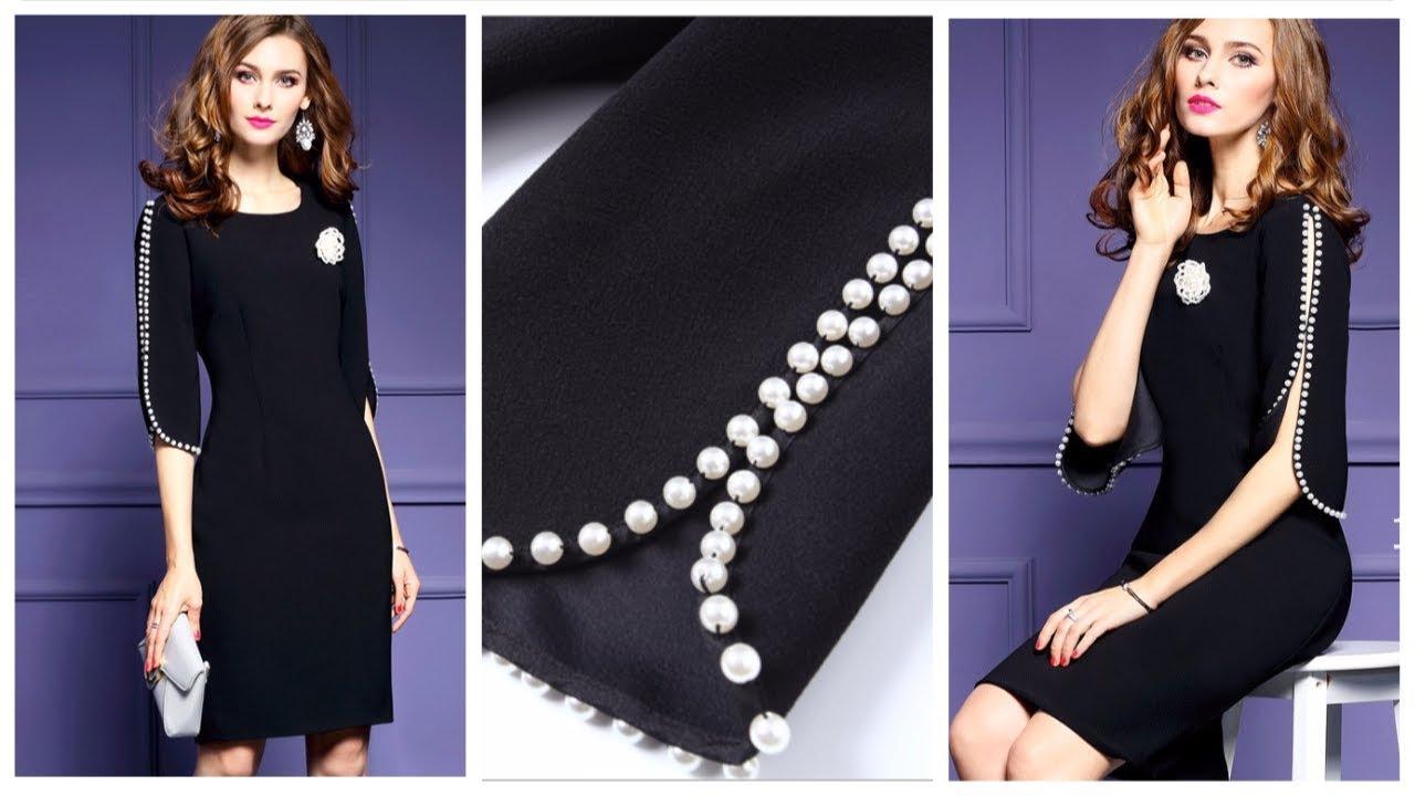 Покупка Одежды с AliExpress - Пикантное Вечернее платье-миди с .