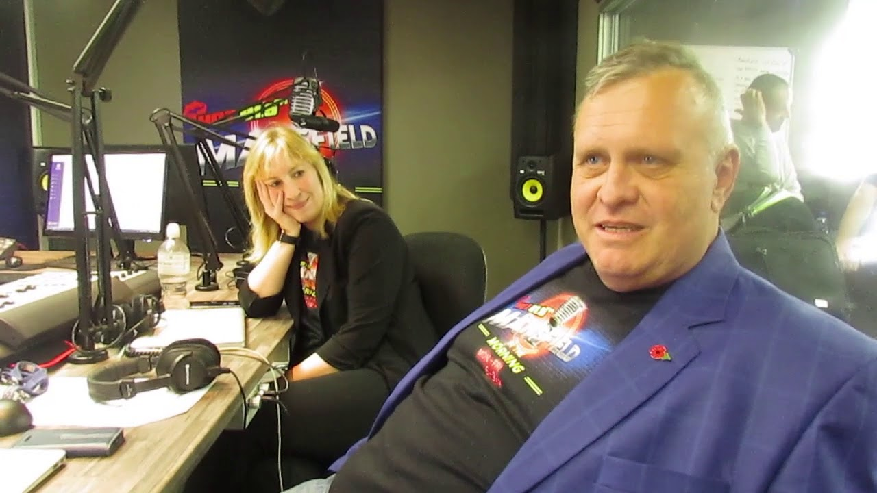 """It was scary and a little daunting being back on air"""" - Jeremy Mansfield -  YouTube"""